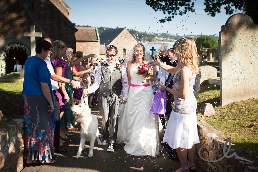 St Brelades Bay Wedding Photographer