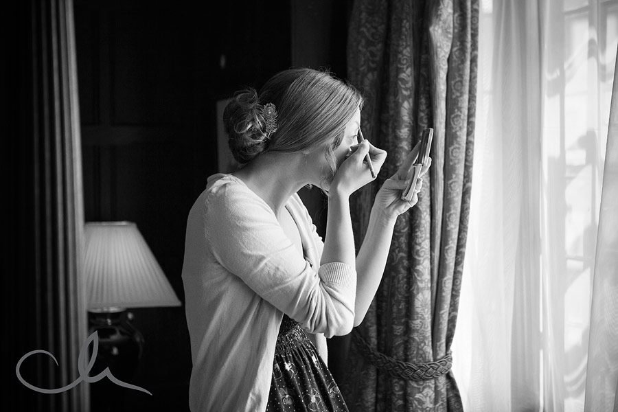 Bridal Preparations at The Falstaff Hotel in Canterbury, Kent