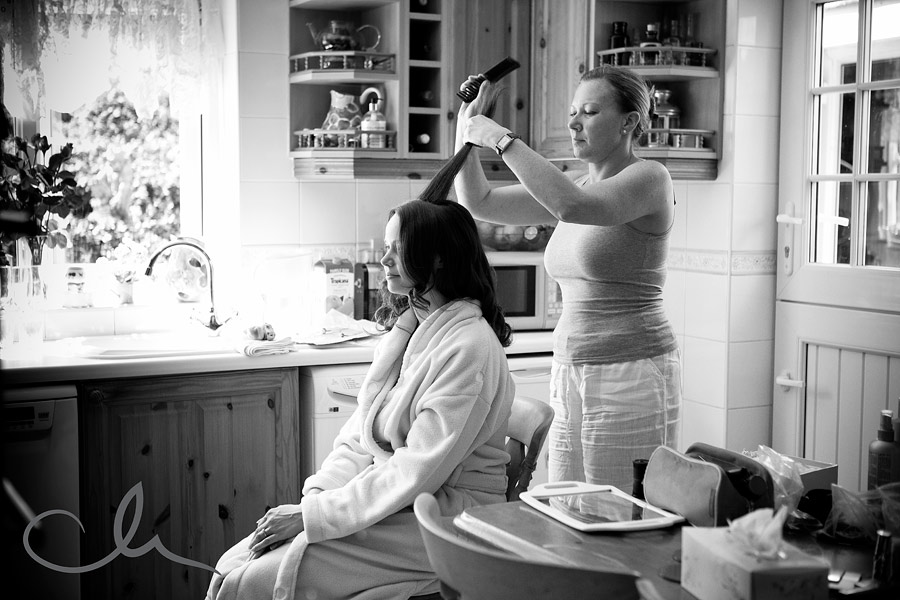 Wedding Preparations shot by Kent Wedding Photographer Catherine Hill