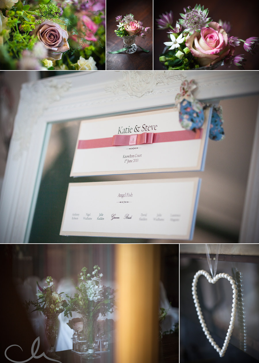 Wedding Table Plan at Knowlton Court Weddings