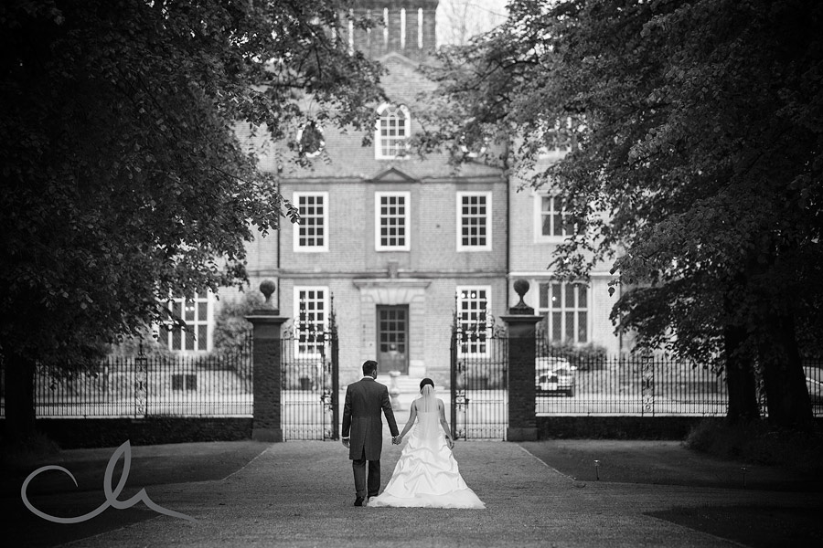 Wedding portrait shots at Knowlton Court