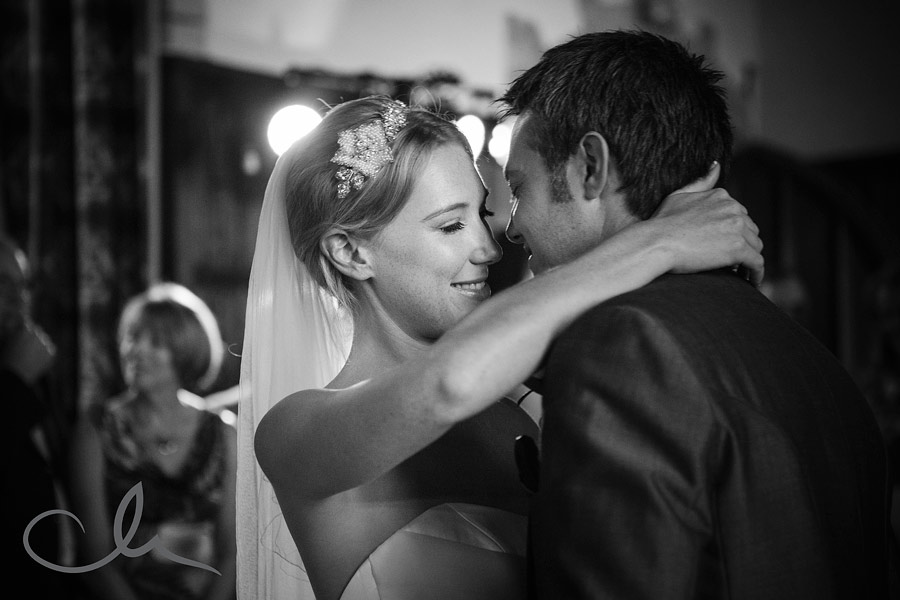 First dance at Lympne Castle Wedding