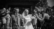 Bride and Groom at Lympne Castle Kent