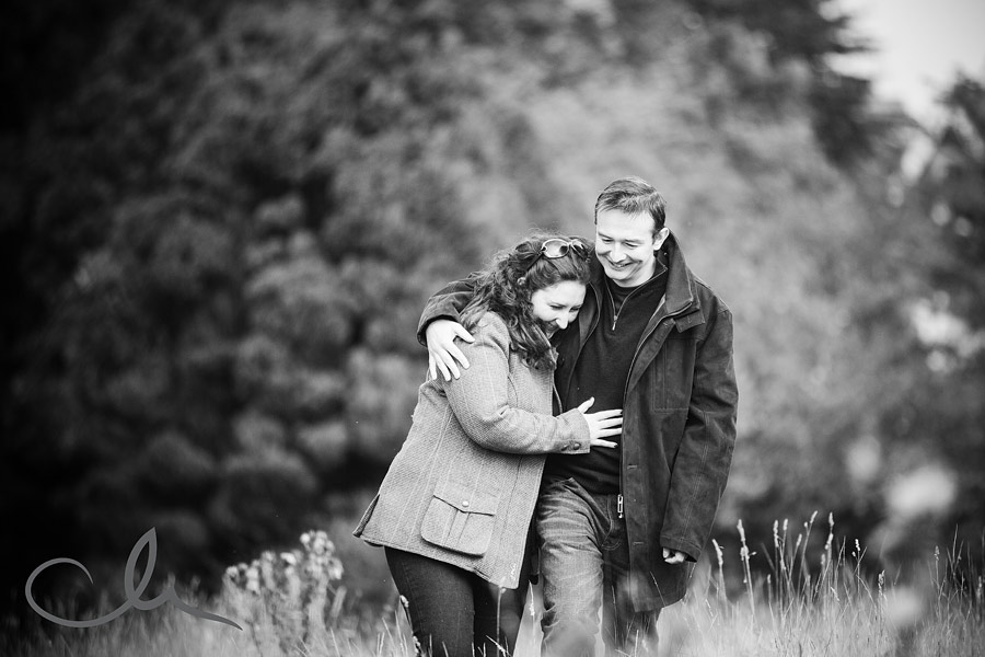 Pre Wed photoshoot with Emily and Peter in Canterbury Kent