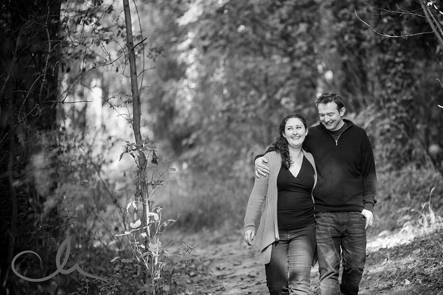 couple taking a stroll along the Kent Countryside