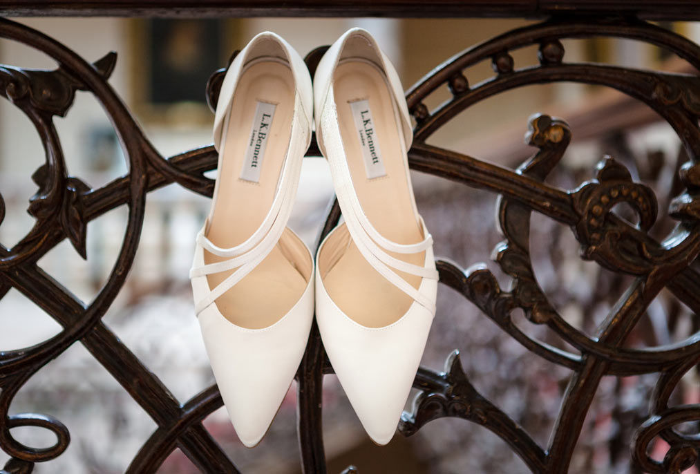 brides shoes at mount ephraim kent