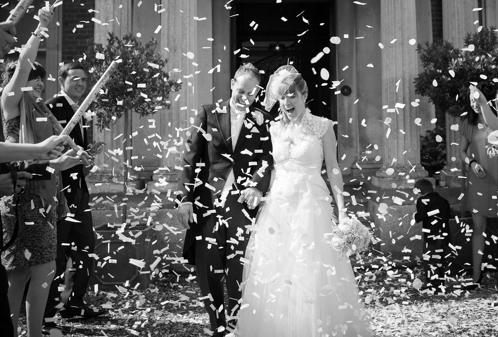 confetti at Mount Ephraim