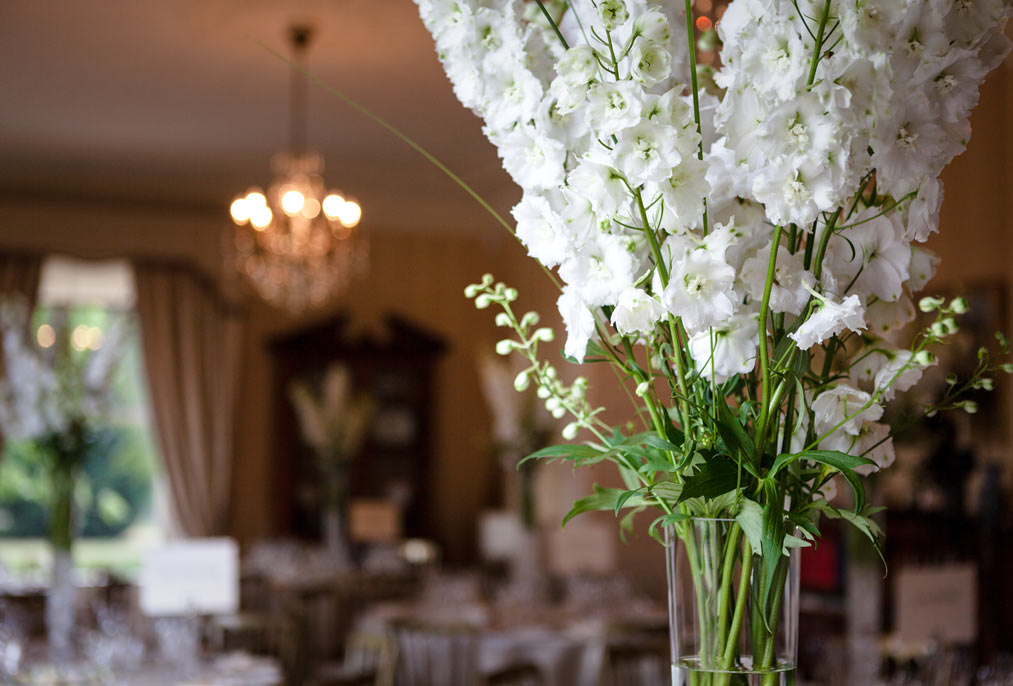 wedding breakfast room at mount ephraim kent