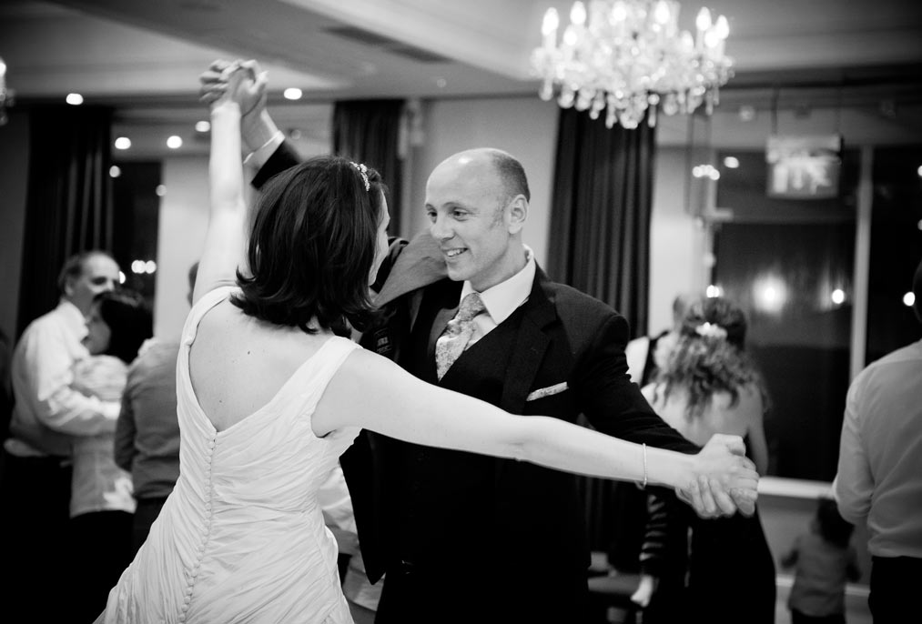 first dance at L'Horizon Hotel wedding