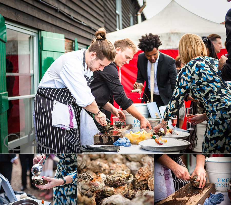 Oysters-at-The-Lobster-Shack-Wedding