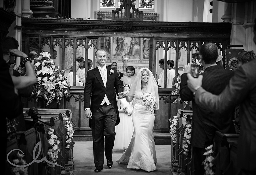 St Nicholas Church Chislehurst Wedding Photography