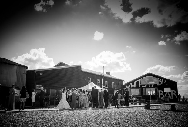 The Lobster Shack Whitstable Wedding Photography - Alex & Collette's Wedding