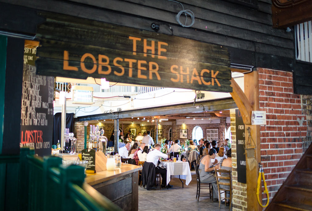 the lobster shack whitstable wedding photography alex