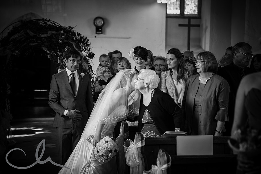 Church Wedding Ceremony at Deal Church