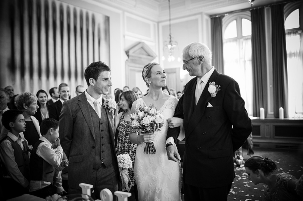 The Andaz Hotel London - couple getting married
