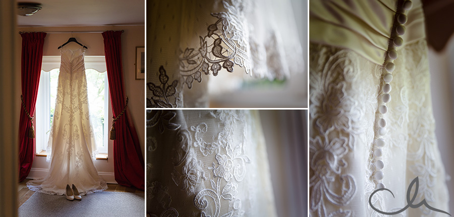 brides-dress-at-Knowle-Country-House