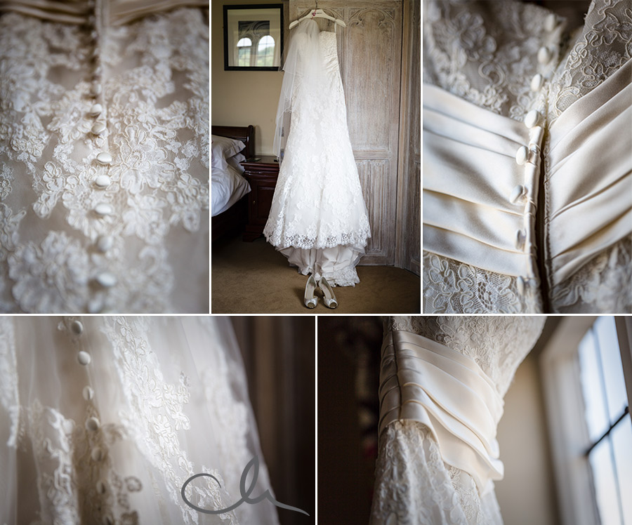 Brides-dress-at-Leeds-Catle-Kent