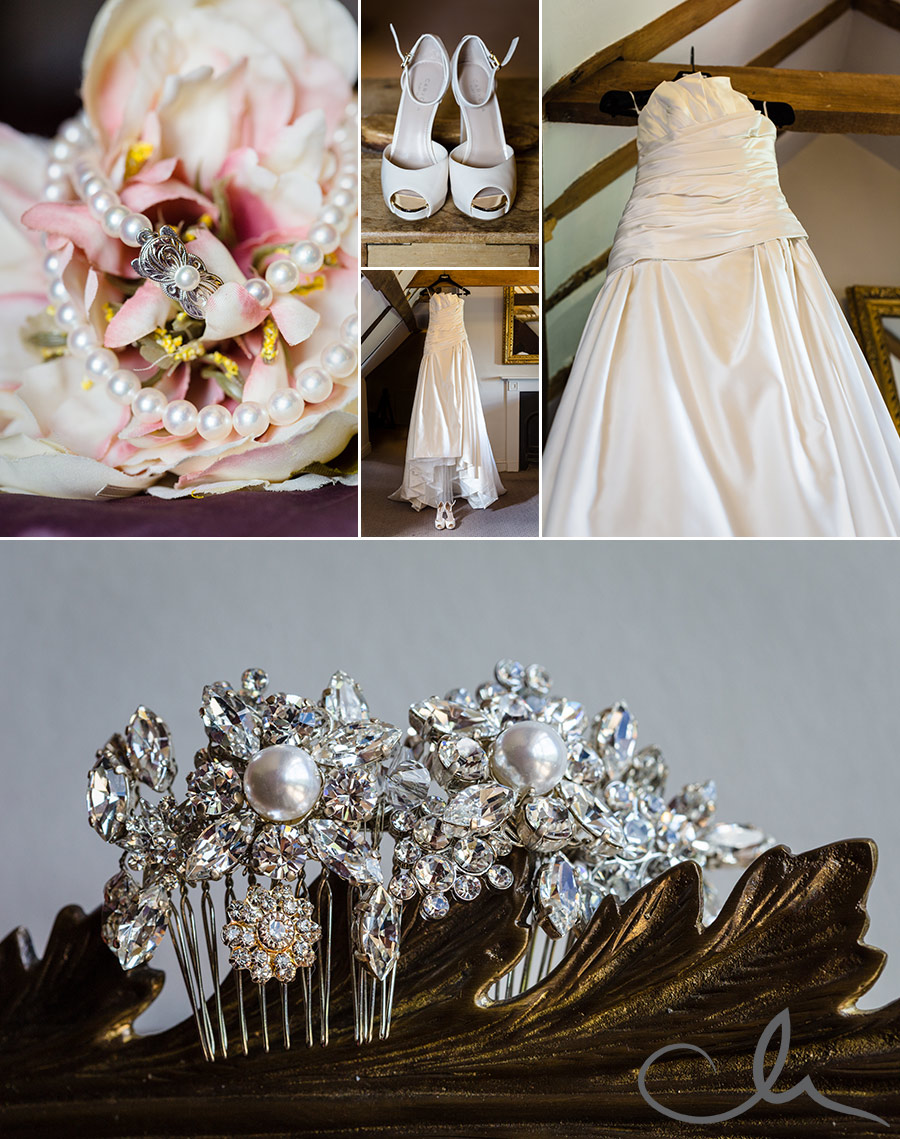 Bridal-shoes-and-jewellry-at-Chilston-Park-Kent
