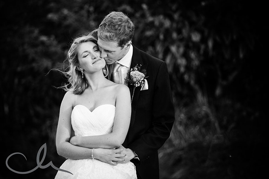 newly wed portrait photos at Mount Ephriam Gardens