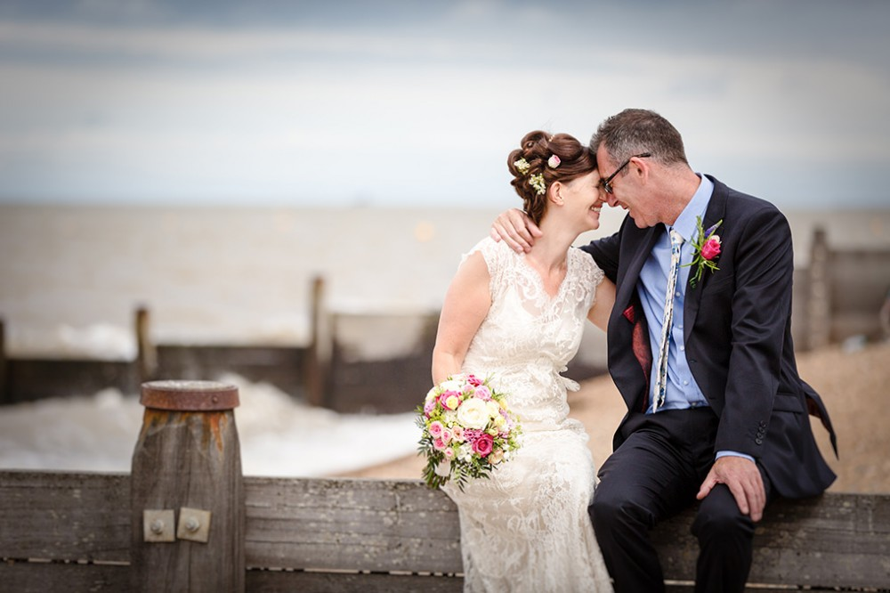Whitstable Wedding Photographer at The Beacon House