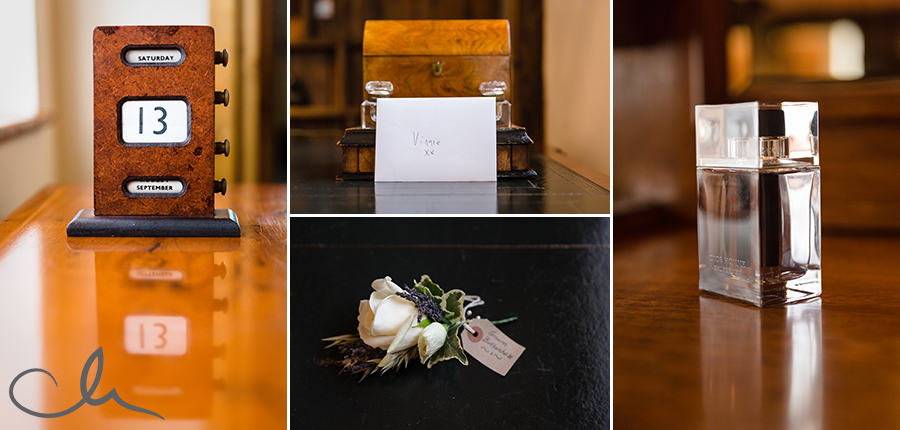 Groom's-aftershave-and-corsage-at-Winters-Barns-Kent