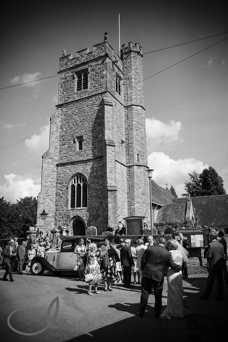 Holy Cross Church Bearsted Wedding