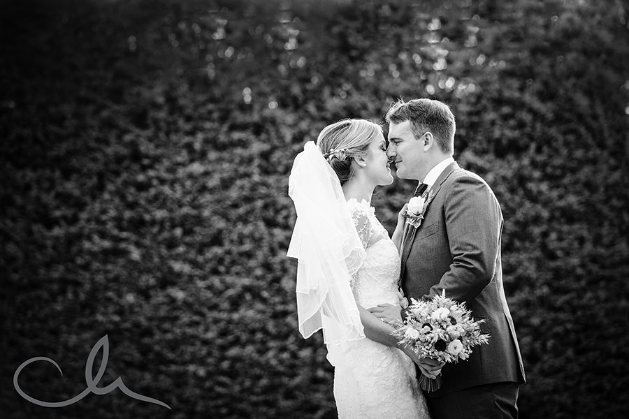 winters barns wedding photography - newlyweds portrait photos