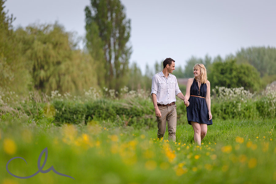 Pre-wed shoot in Hoaden Kent with Kelli & Mark