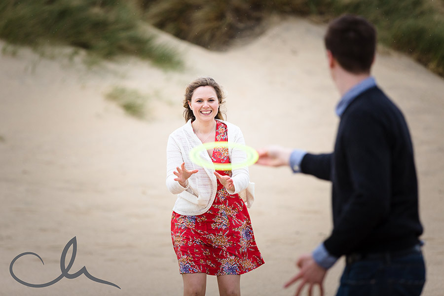 fun photo shoot at Camber Sands
