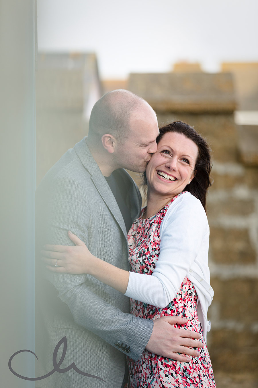 engagement pictures of couple at Hythe in Kent