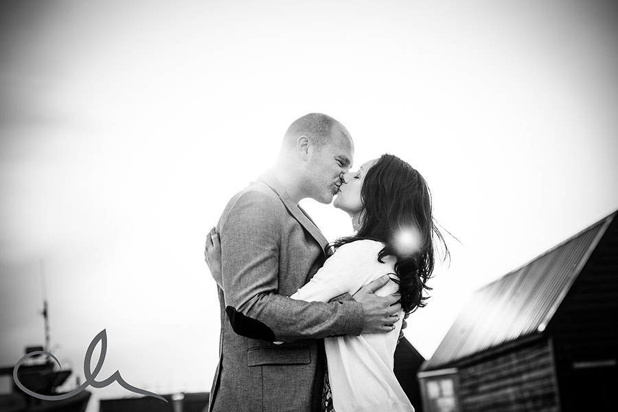 romantic engagement shoot in Kent