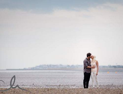 Paula and Paul's Whitstable Engagement Shoot