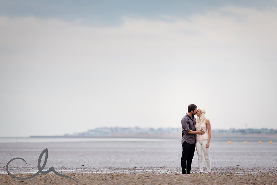 whitstable engagement shoot with Paula and Paul