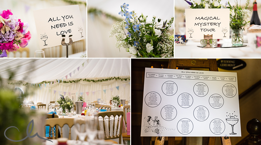 Wedding-Breakfast-tables-at-St-Augstine's-Priory-Kent-Wedding-Venue