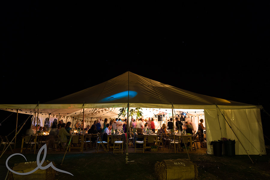 Marquee at Great Higham Barn Wedding in Kent