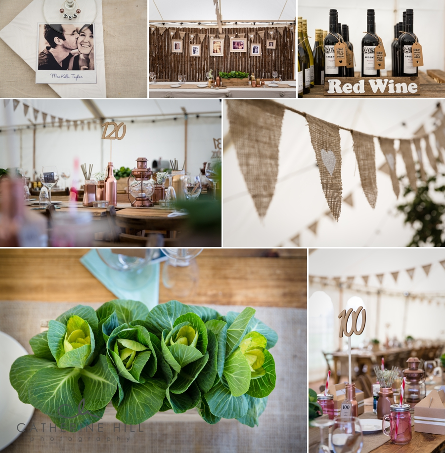 Great Higham Barn Wedding Breakfast
