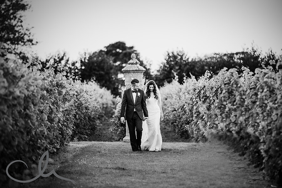 Harry-&-Amanda have their portrait shoot at their La Mare Wine Estate Wedding