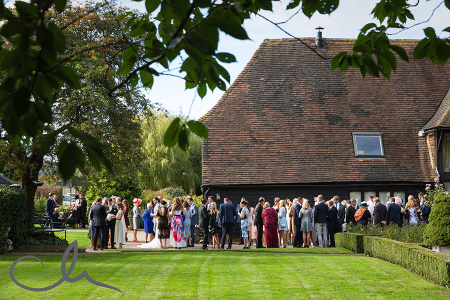 The-Old-Kent-Barn-Wedding reception celebrations