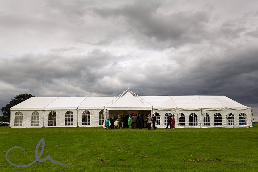 Kent countryside marquee wedding