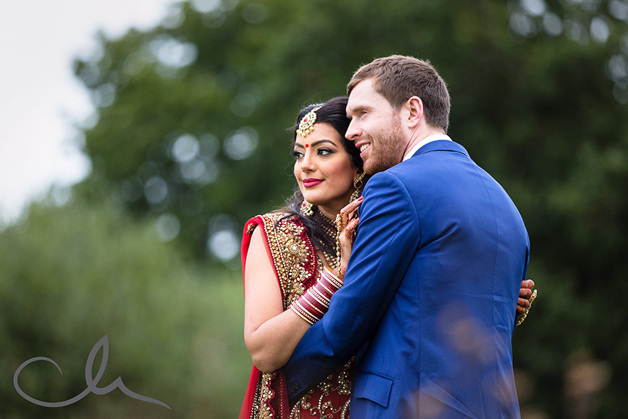 Rukmanie-and-David's-Sikh-Wedding-Photography - newleyweds portrait shots