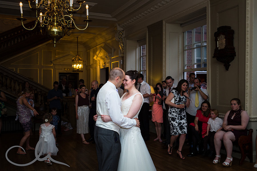 Skinners Hall London Wedding Photography - the newlyweds first dance