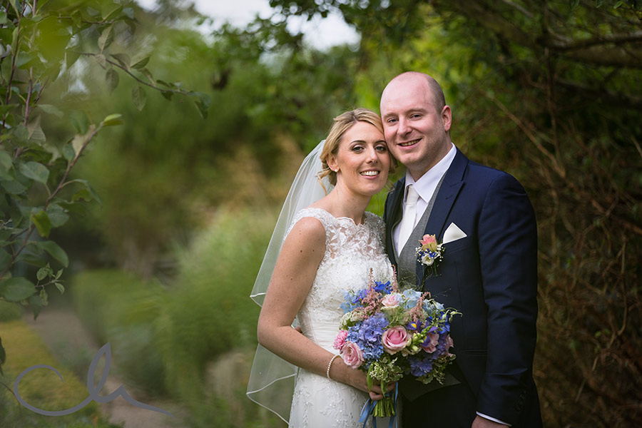 newlyweds at Secret Garden Kent