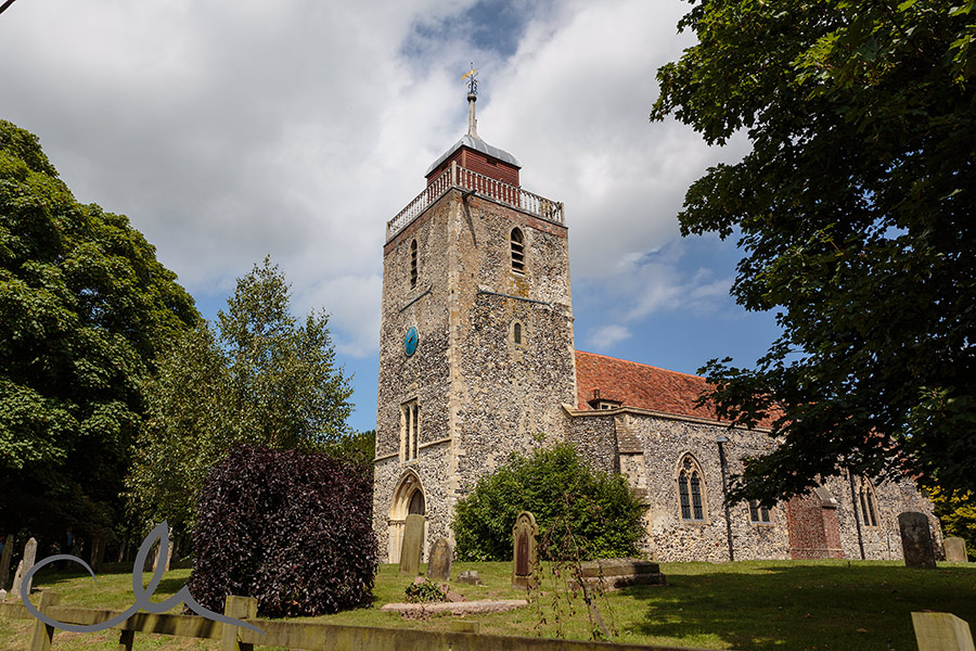 St Mary's the Blessed Virgin Church Church Street Woodnesborough nr Sandwich