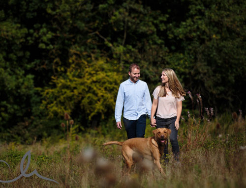 Louisa & Ashley's Kent Countryside Engagement Shoot