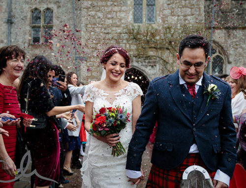 Alasdair and Simin's Winter Lympne Castle Wedding