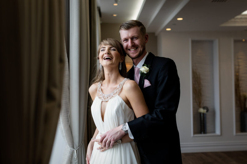 Guy & Holly's testimonial for their Sands Hotel Wedding Photography