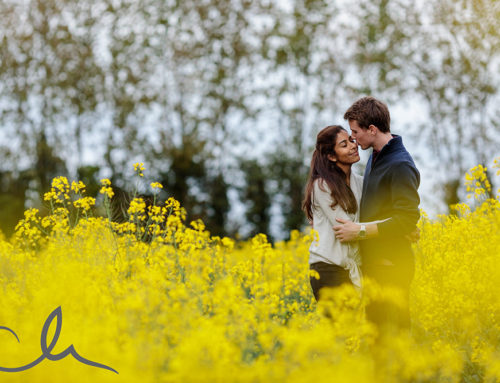 Kent Countryside Engagement Photography – Sheena & Nick