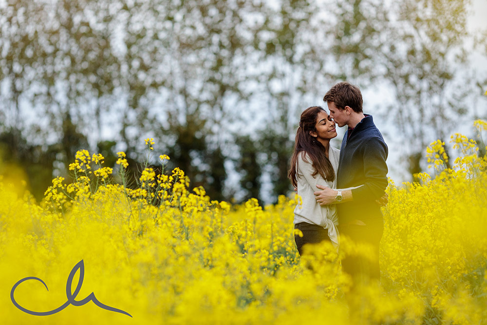 Kent Countryside Engagement Photography
