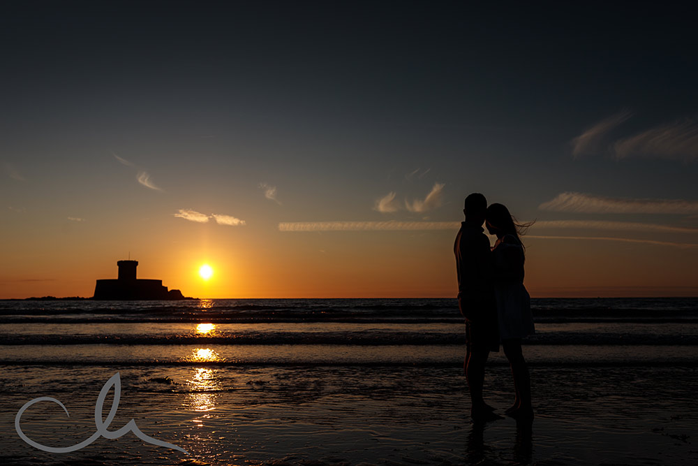 St Ouens Jersey Engagement Photography
